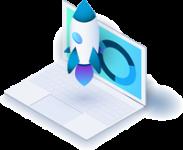 Icon 3D Markteingstrategie