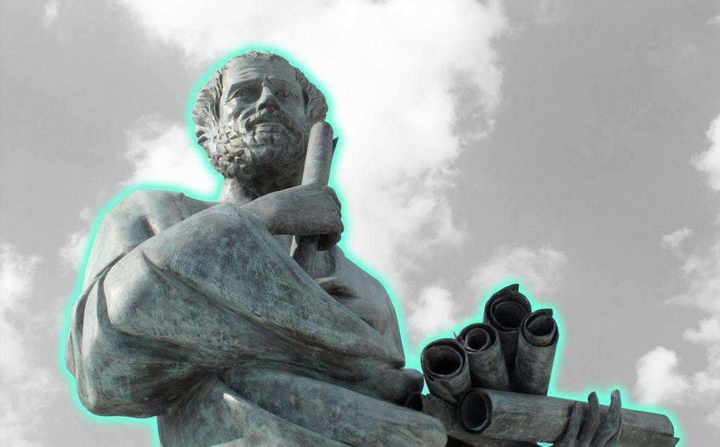 Blogbild Data Based Marketing Aristoteles
