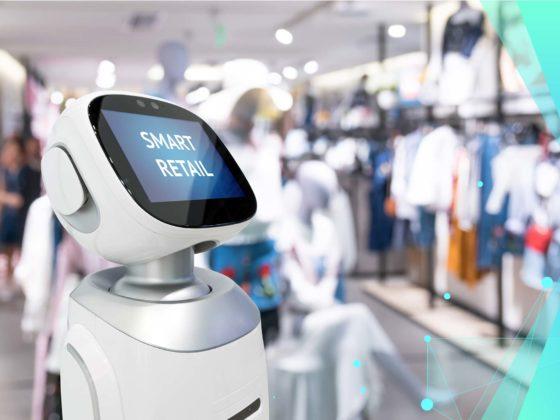 Roboter im Store